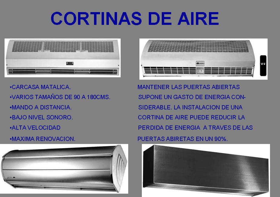 Equipos articovolt e i r l - Cortinas de aire caliente ...